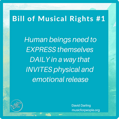 Bill of Musical Rights #1