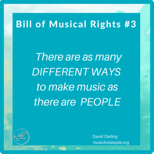 Bill of Musical Rights #3