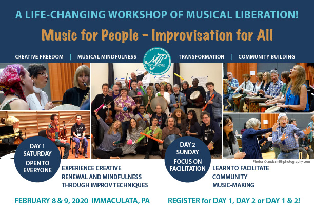 Improvisation For All-Feb 8 & 9, 2020