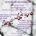 Jam for Everyone - In Honor of David Darling